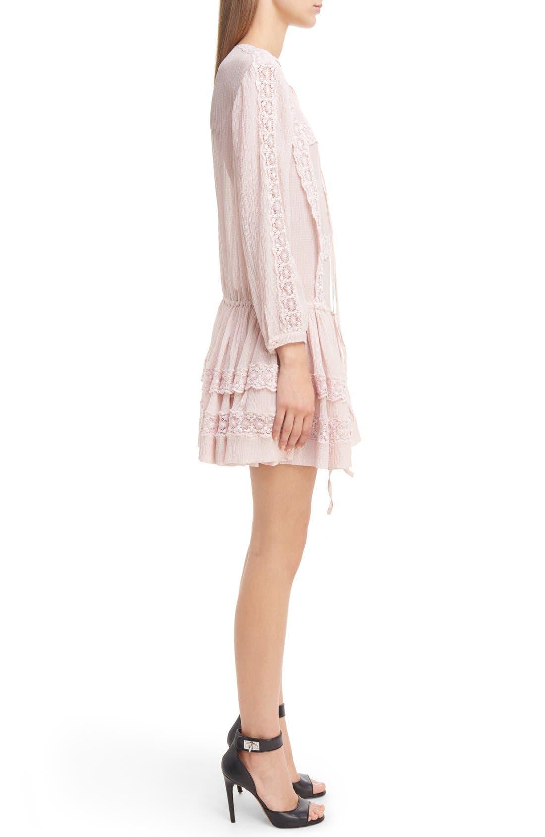 Alternate Image 5  - Givenchy Ruffle Crepon Peasant Dress