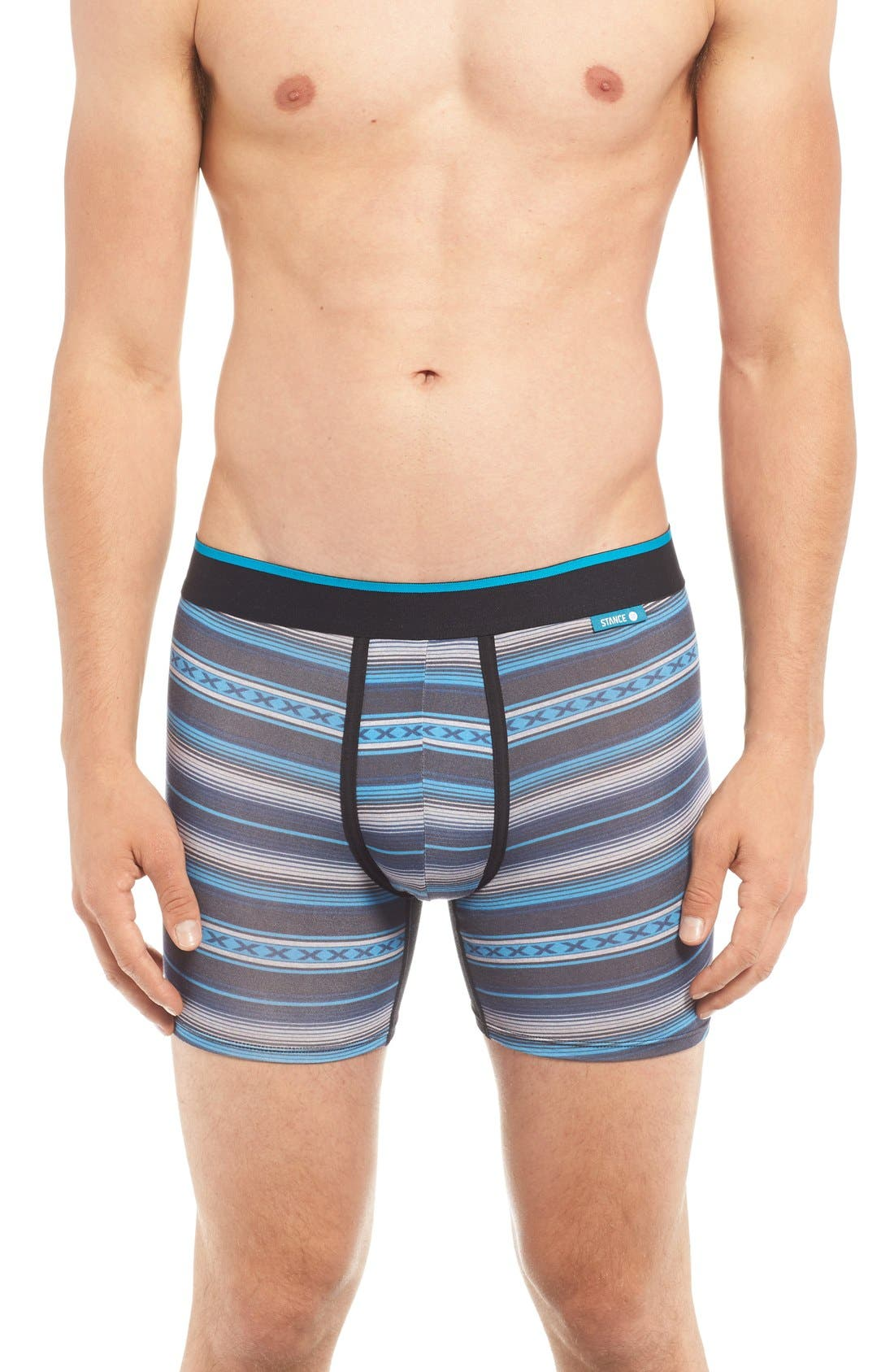 Main Image - Stance Wholester Centerfire Stretch Modal Boxer Briefs