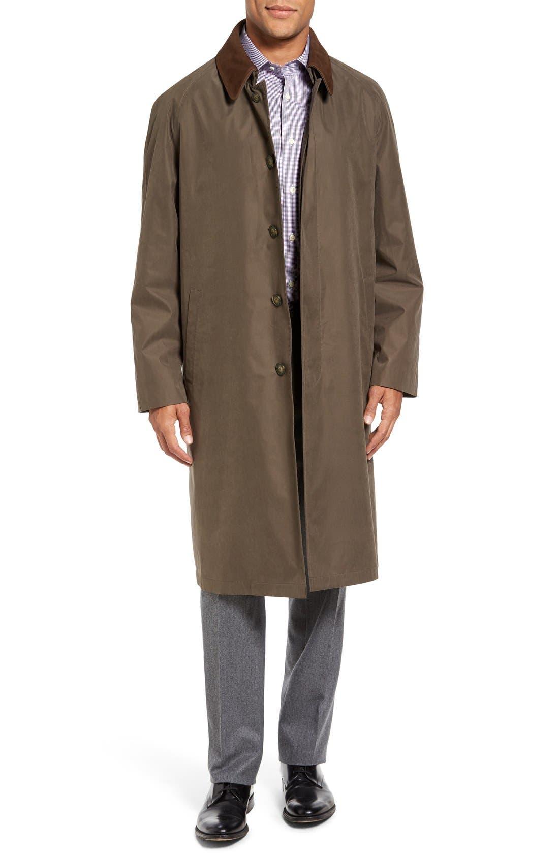 Hart Schaffner Marx Lawrence Classic Fit Rain Coat