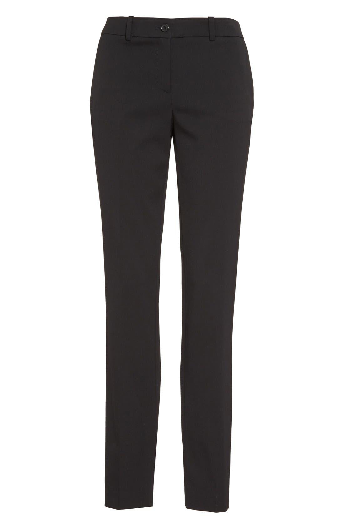 Alternate Image 4  - Michael Kors Samantha Straight Leg Pants