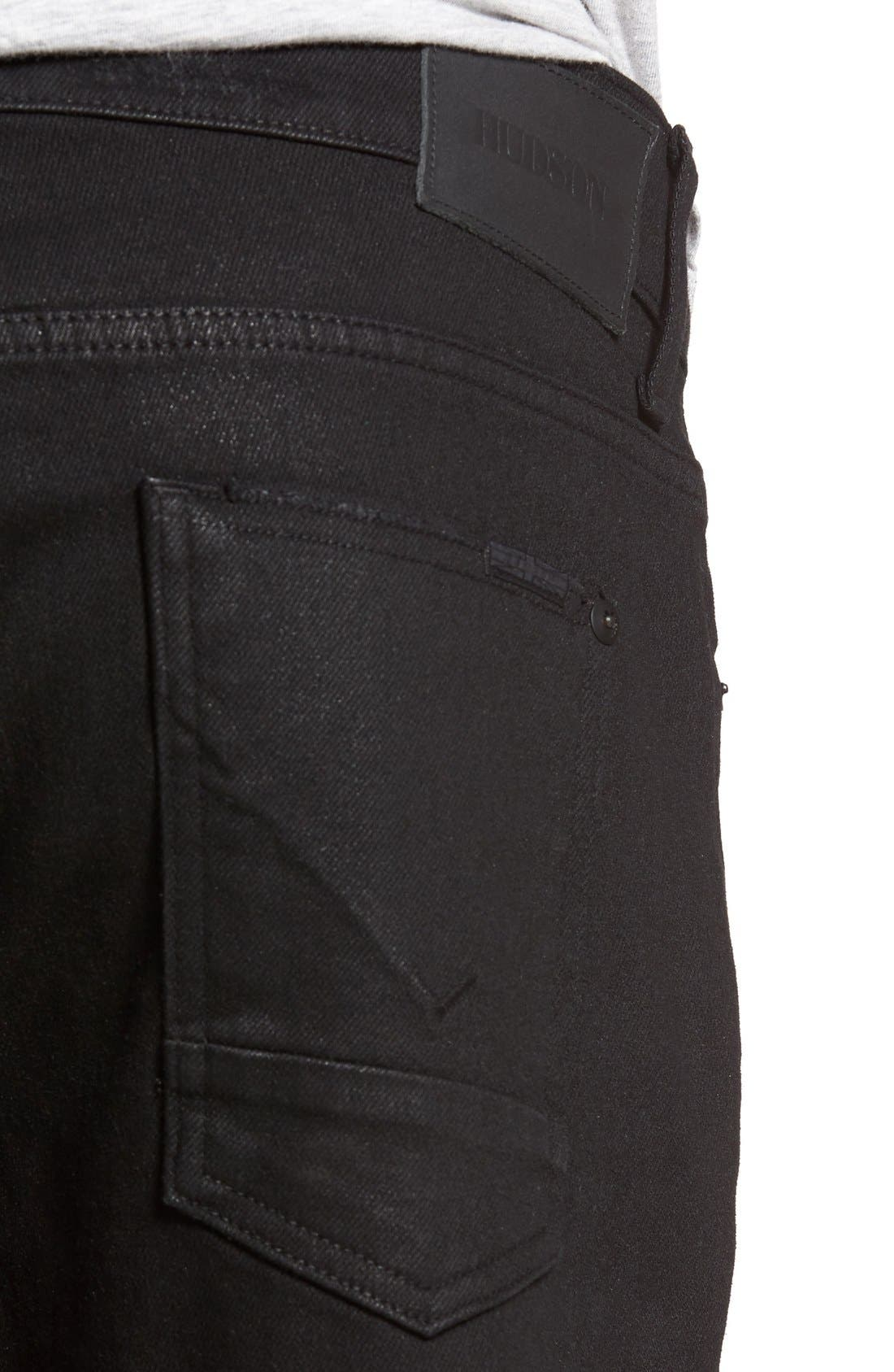 Alternate Image 4  - Hudson Jeans Broderick Skinny Fit Jeans (Untamed)