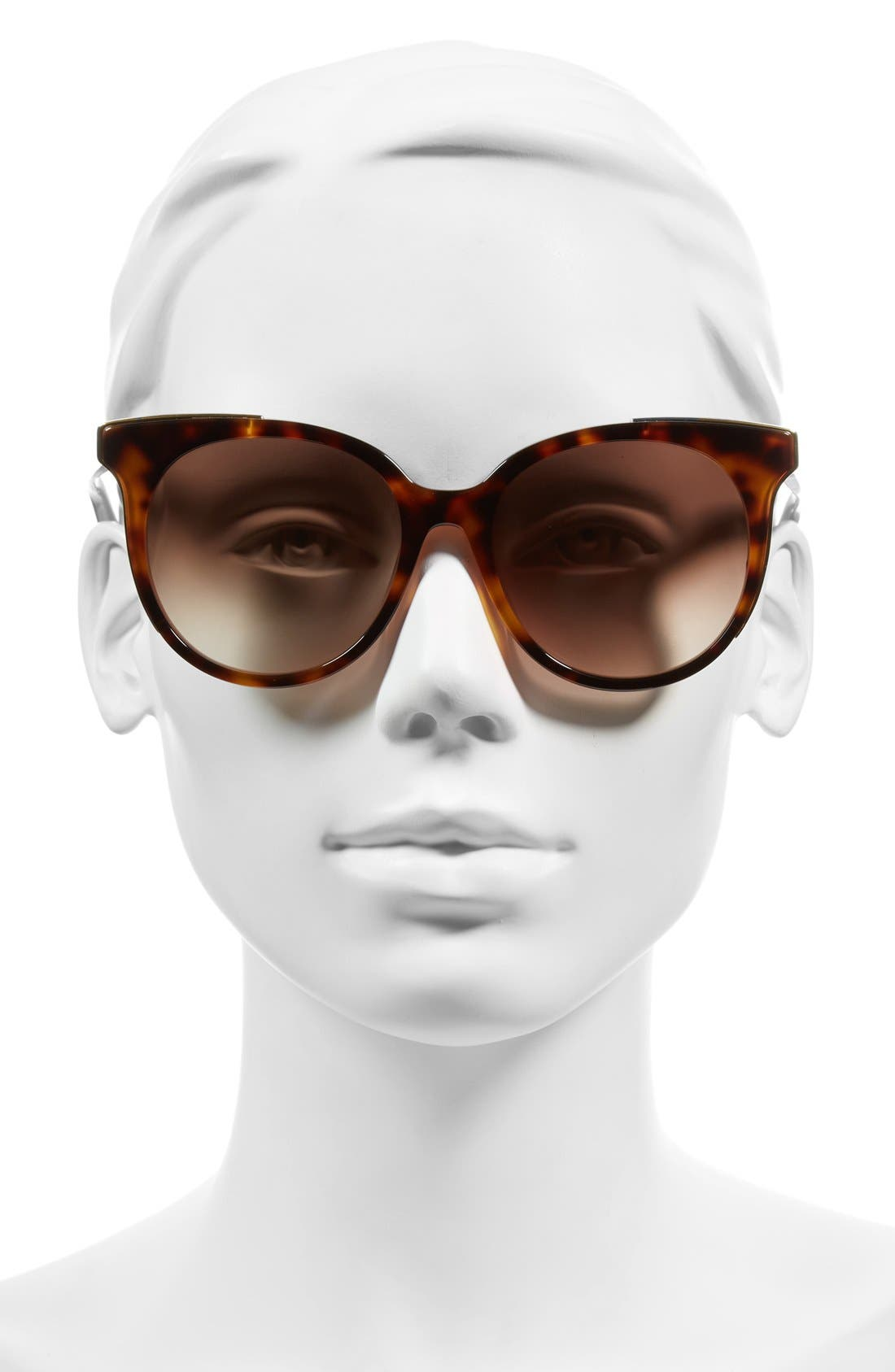 'The Lucy' 54mm Sunglasses,                             Alternate thumbnail 2, color,                             Havana/ Pink