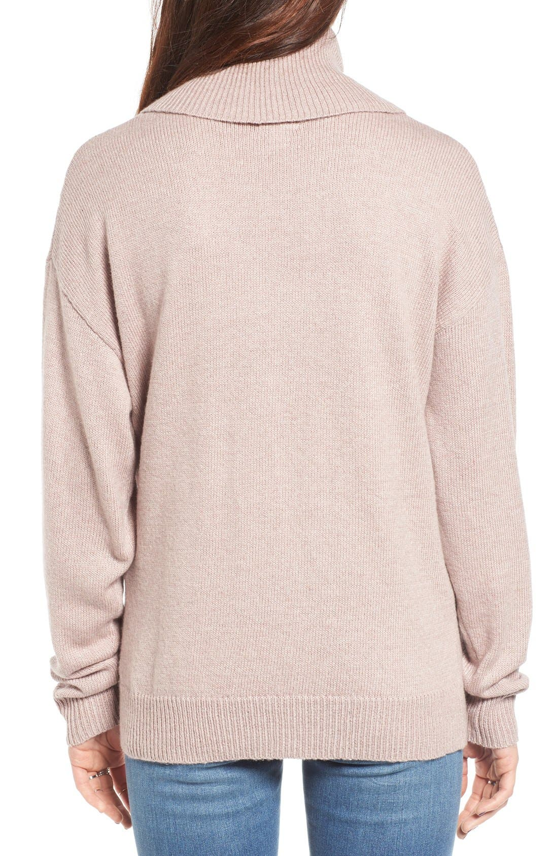 Alternate Image 2  - BP. Turtleneck Sweater
