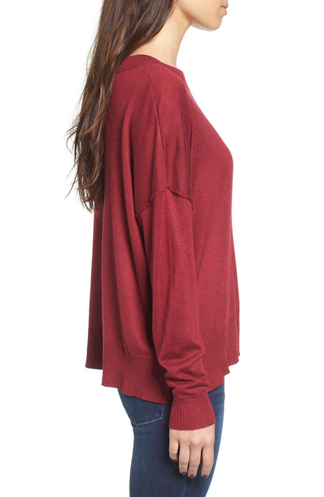 Alternate Image 3  - BP. Drop Shoulder Pullover Sweater