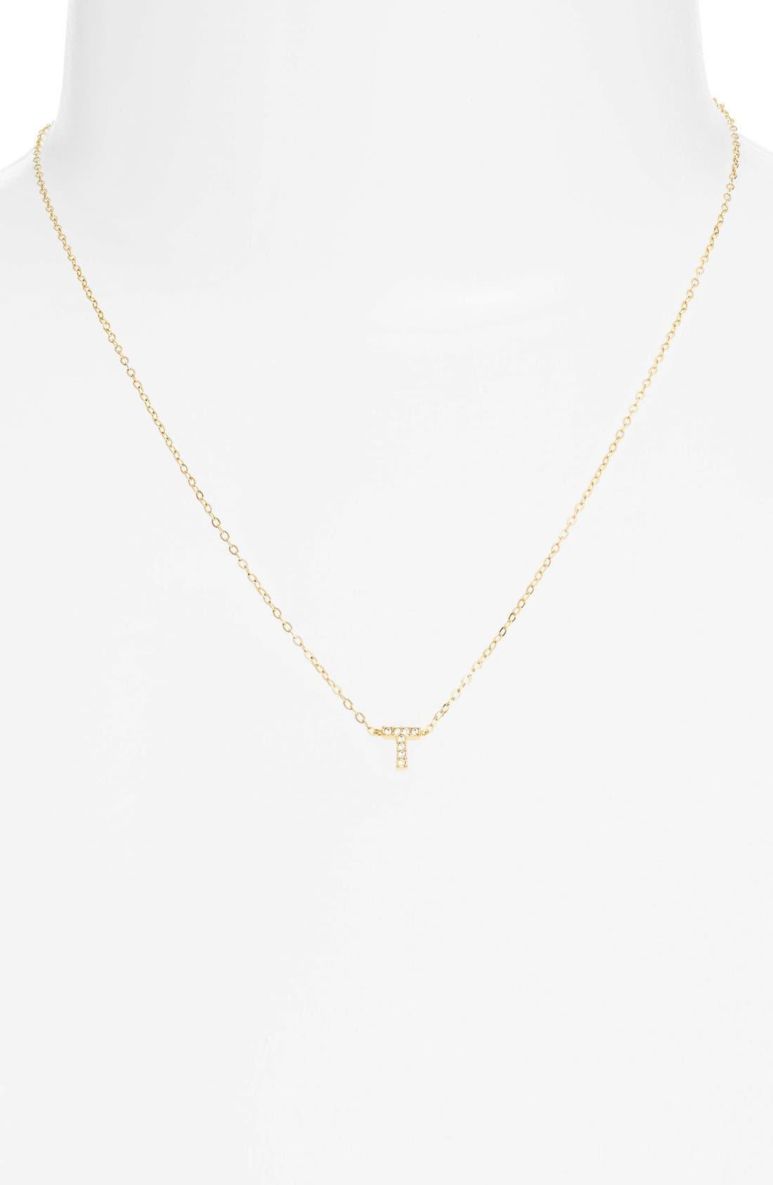 Alternate Image 2  - Nadri Initial Pendant Necklace