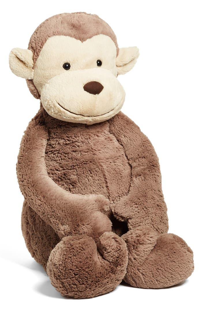 jellycat 39 really big bashful monkey 39 stuffed animal nordstrom. Black Bedroom Furniture Sets. Home Design Ideas