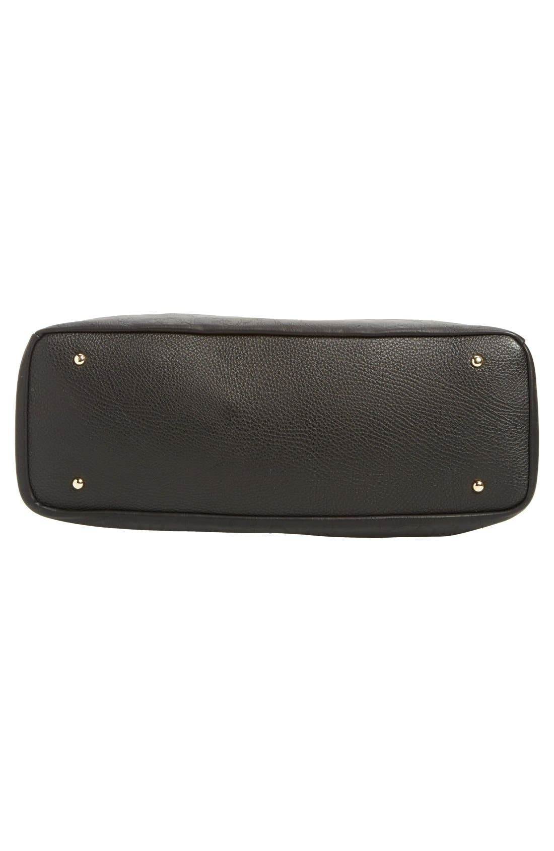 Mason Weekend Bag,                             Alternate thumbnail 6, color,                             Pebbled Black