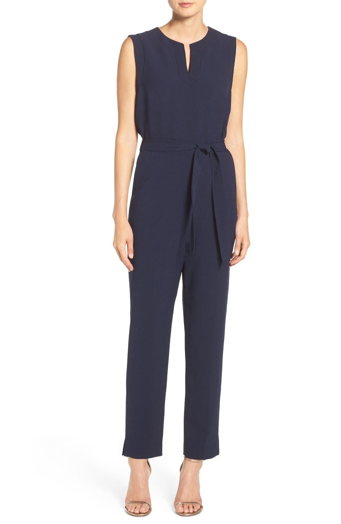 Alternate Image 1 Selected - Vince Camuto Jumpsuit (Regular & Petite)