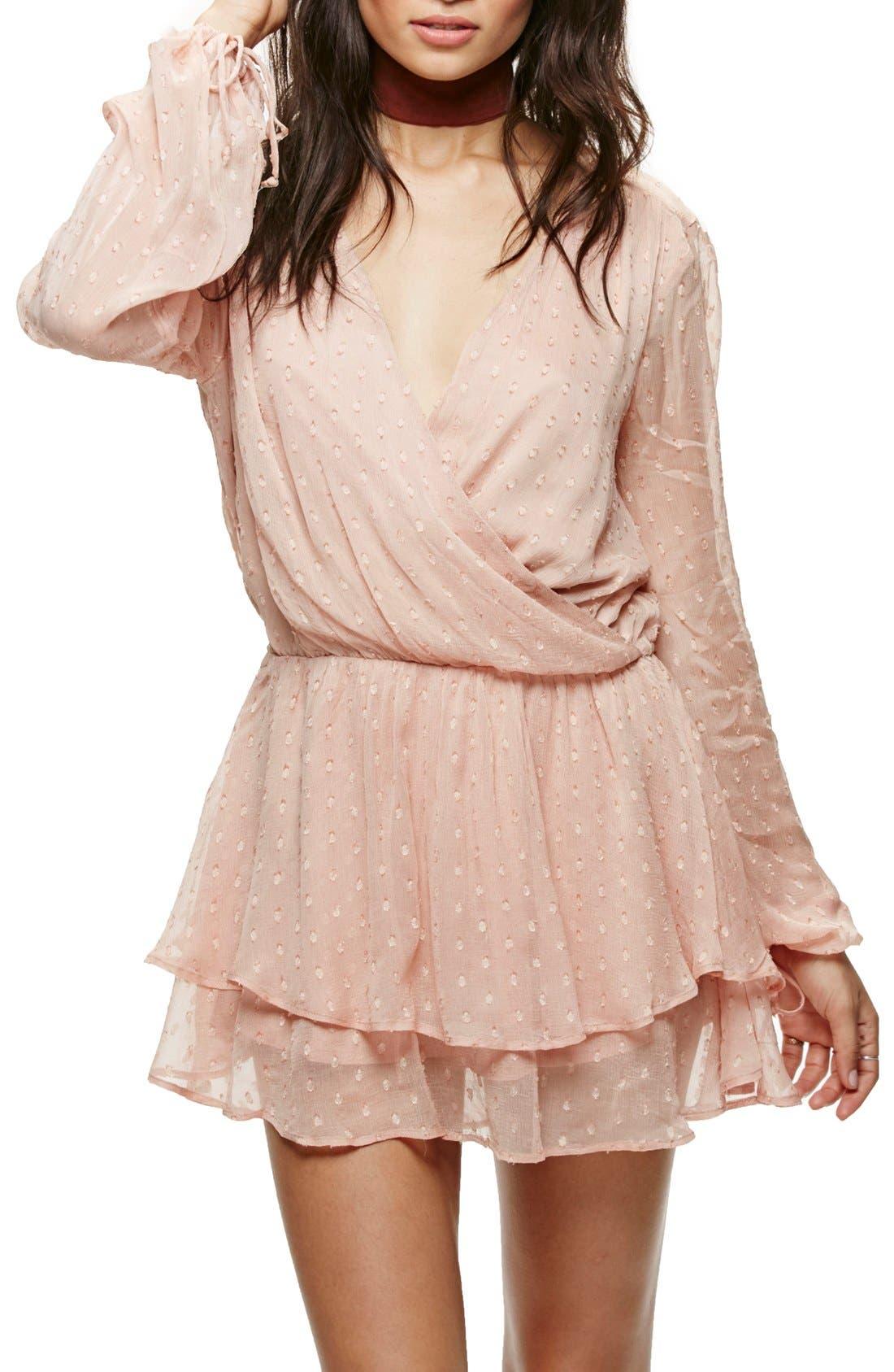 Alternate Image 1 Selected - Free People Daliah Minidress