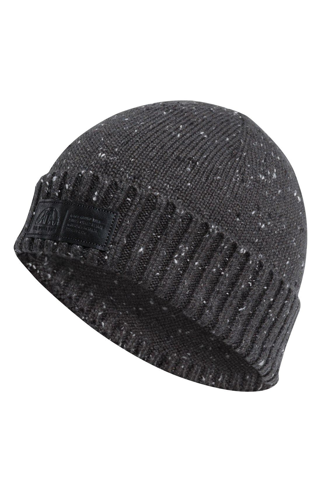 Around Town Beanie,                             Main thumbnail 1, color,                             Asphalt Grey
