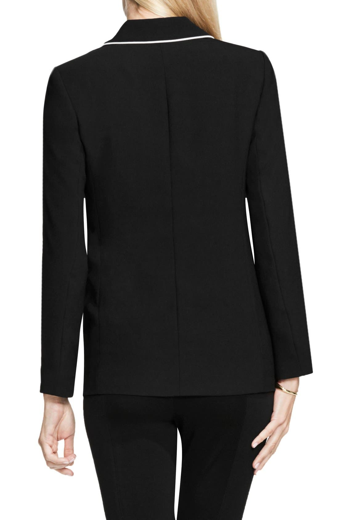 Alternate Image 3  - Vince Camuto Contrast Piping Blazer