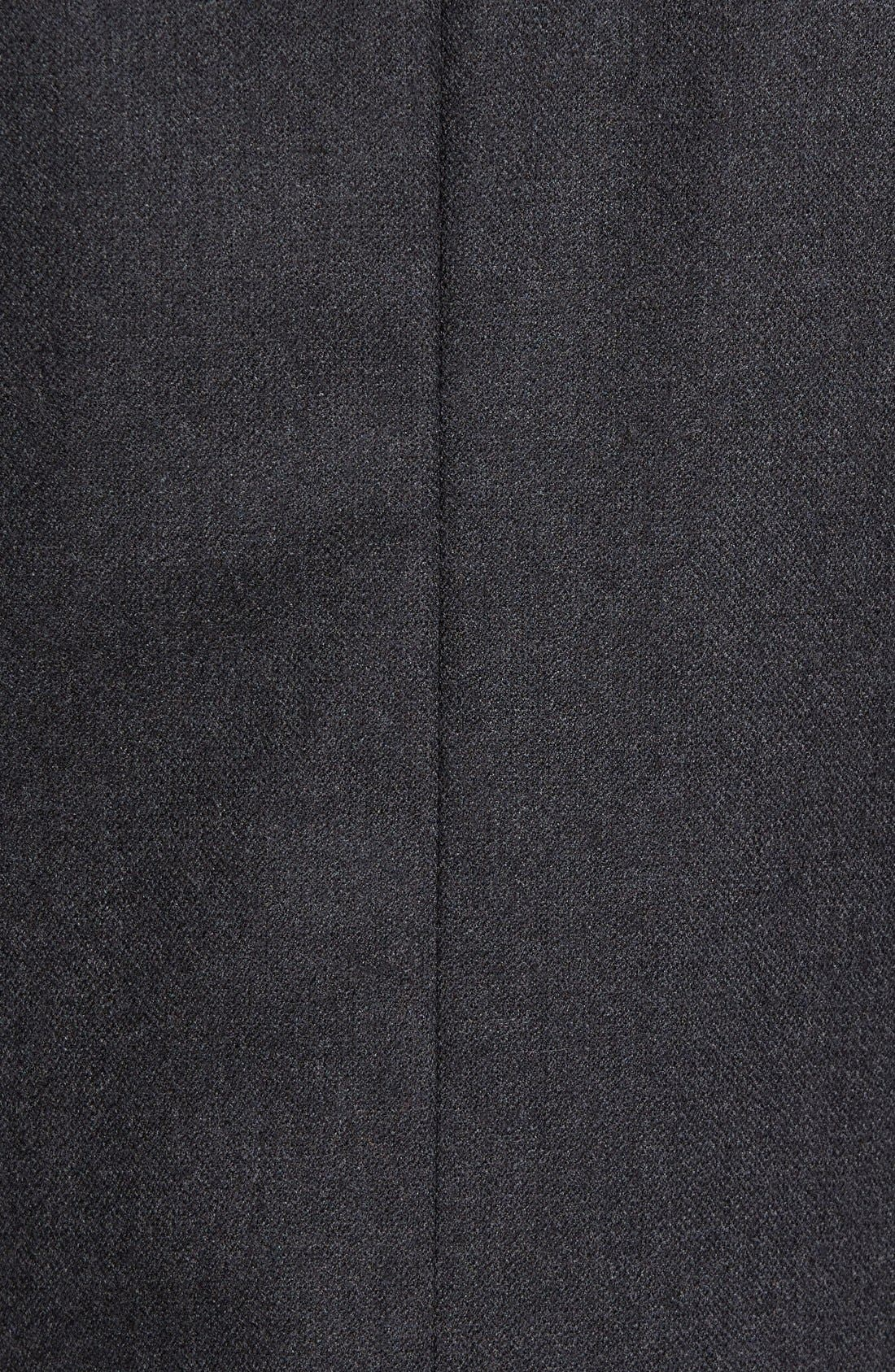 Classic Fit Wool & Cashmere Blazer,                             Alternate thumbnail 5, color,                             Charcoal