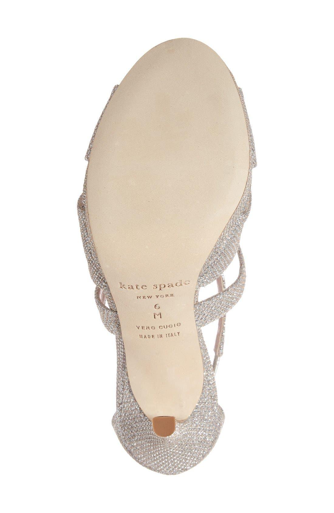 Alternate Image 4  - kate spade new york frances platform sandal (Women)