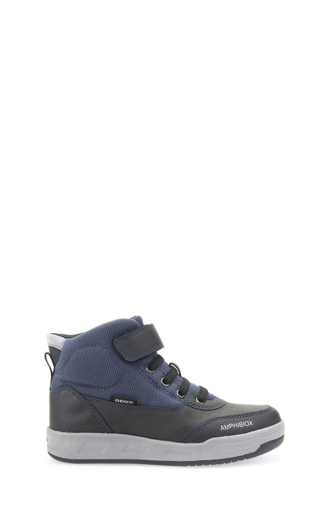 Rolk High Top Sneaker,                             Alternate thumbnail 7, color,                             Navy/ Black