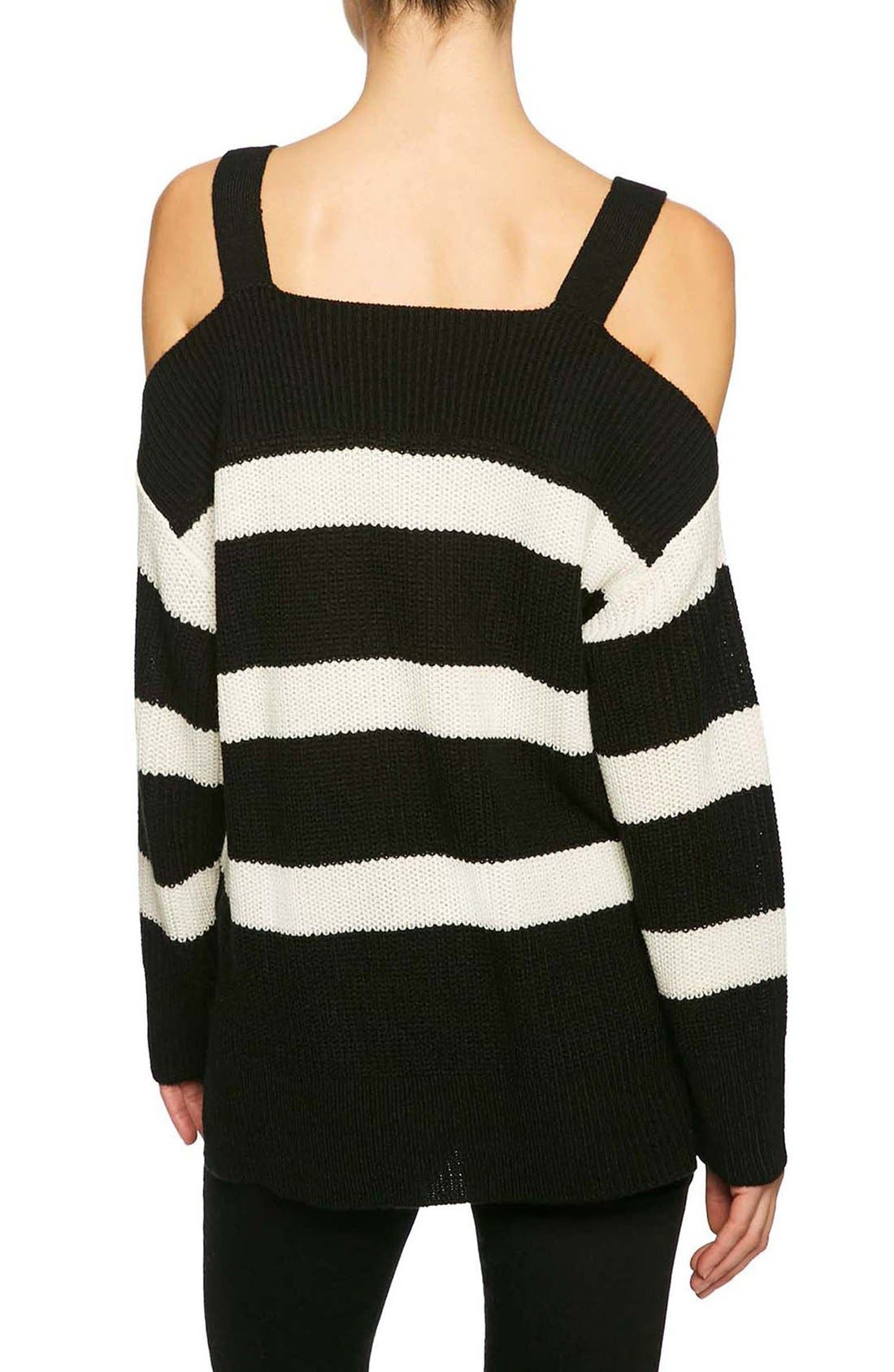 Alternate Image 2  - Sanctuary Amelie Cold Shoulder Sweater