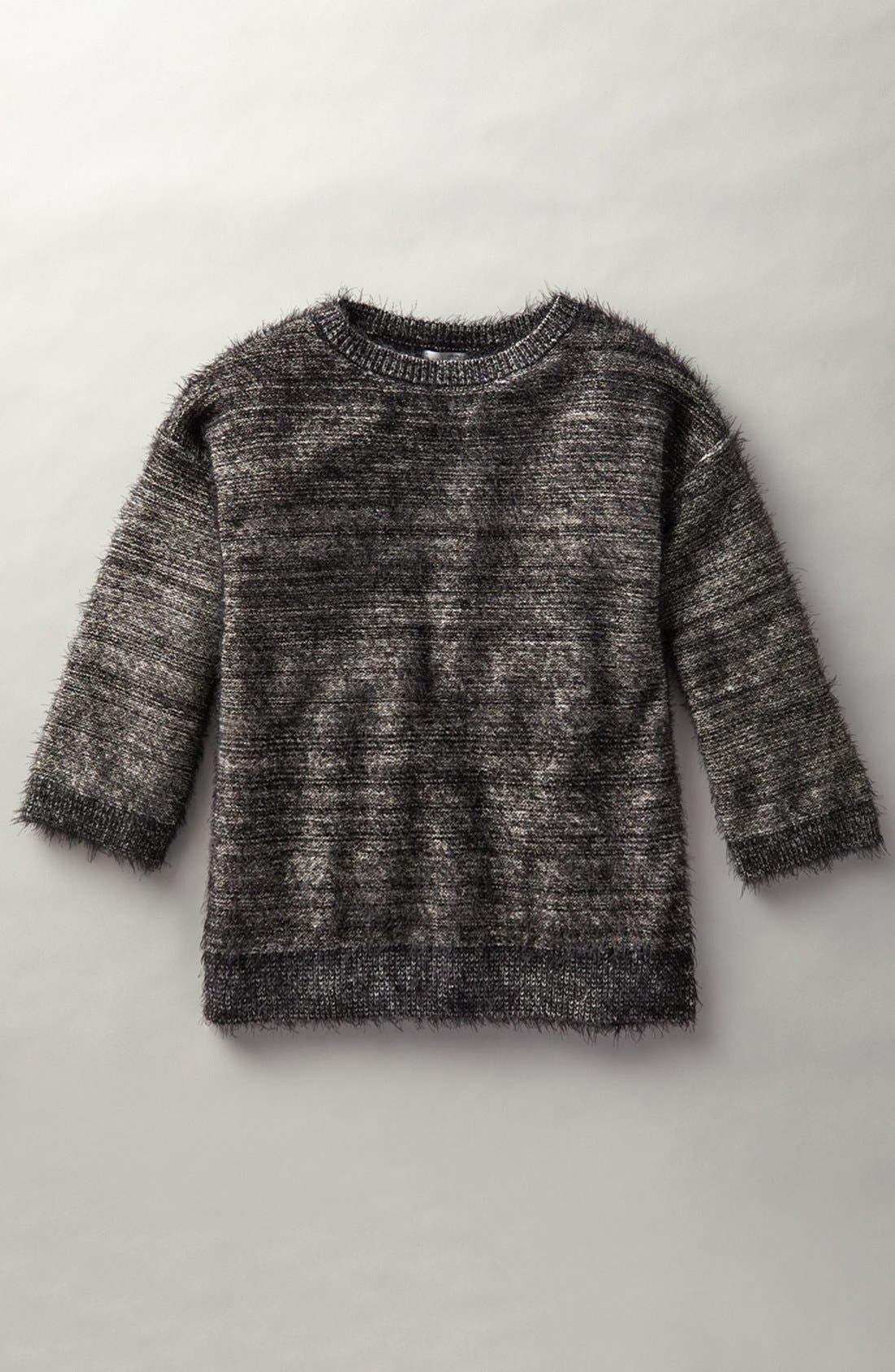 Alternate Image 6  - Halogen® Metallic Eyelash Knit Sweater