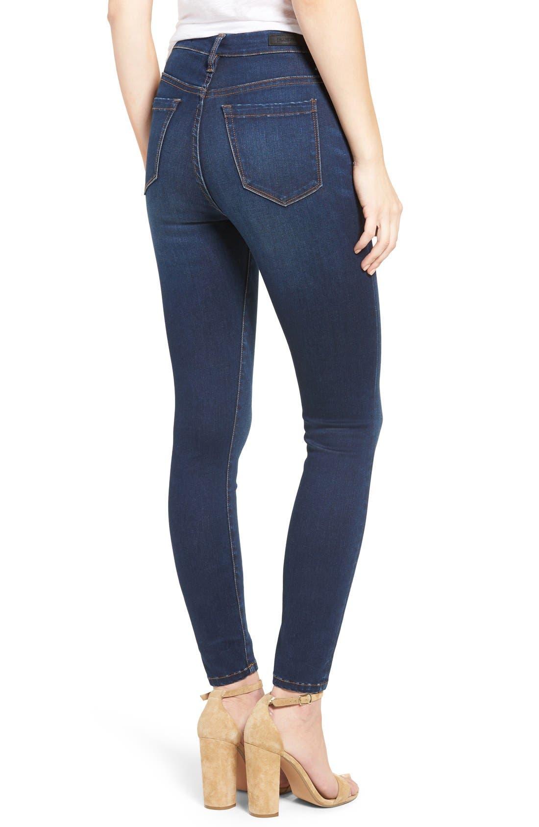 Alternate Image 2  - BLANKNYC Fool Me Twice Skinny Jeans