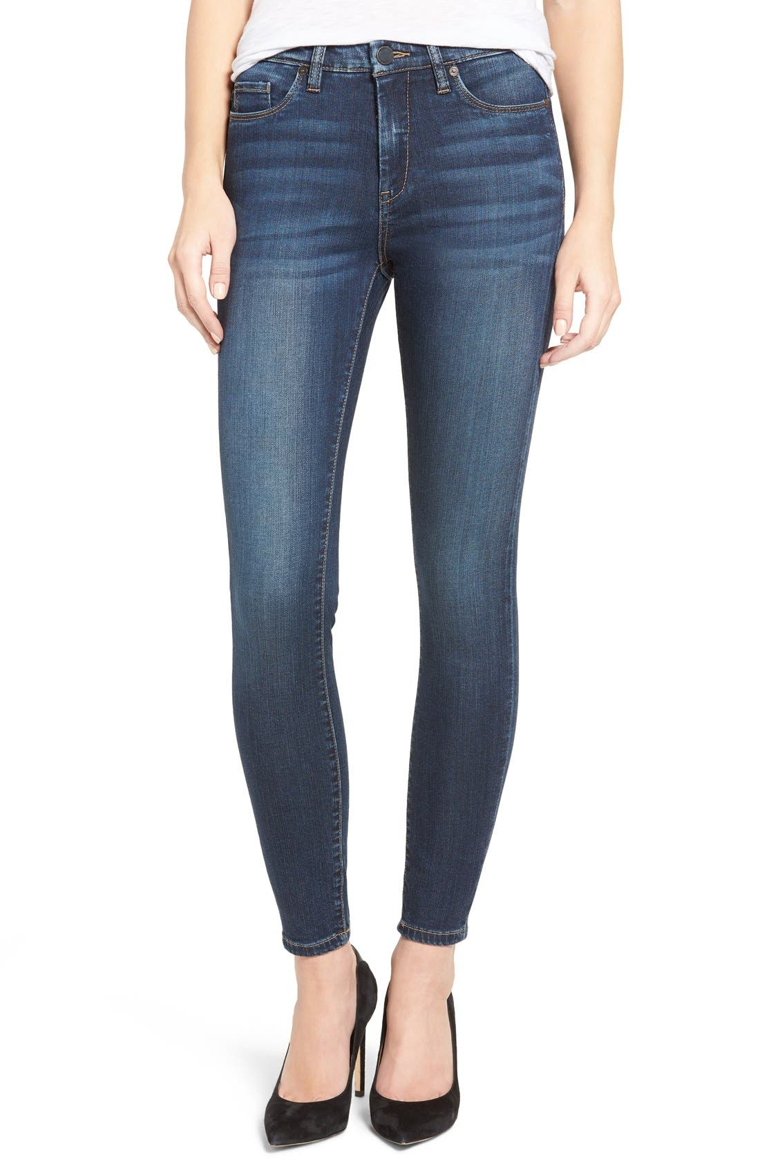 Alternate Image 1 Selected - BLANKNYC Skinny Jeans (The Real Feel)