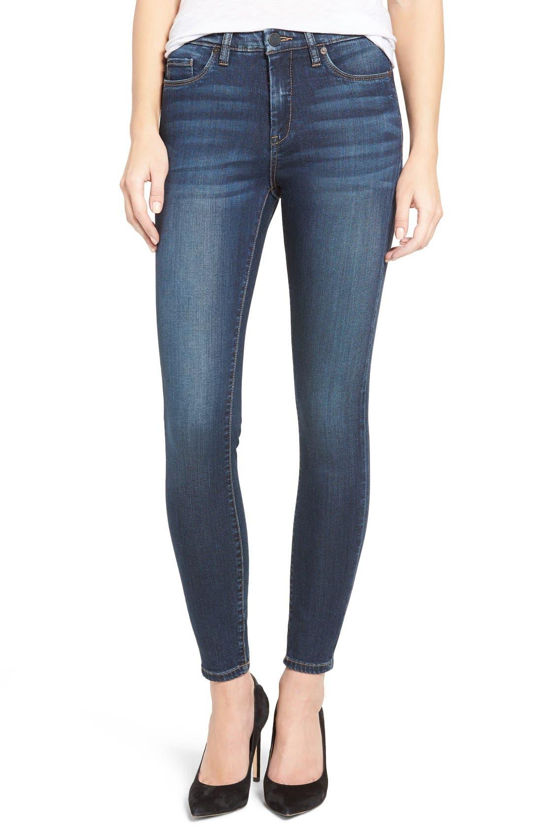 Main Image - BLANKNYC Skinny Jeans (The Real Feel)