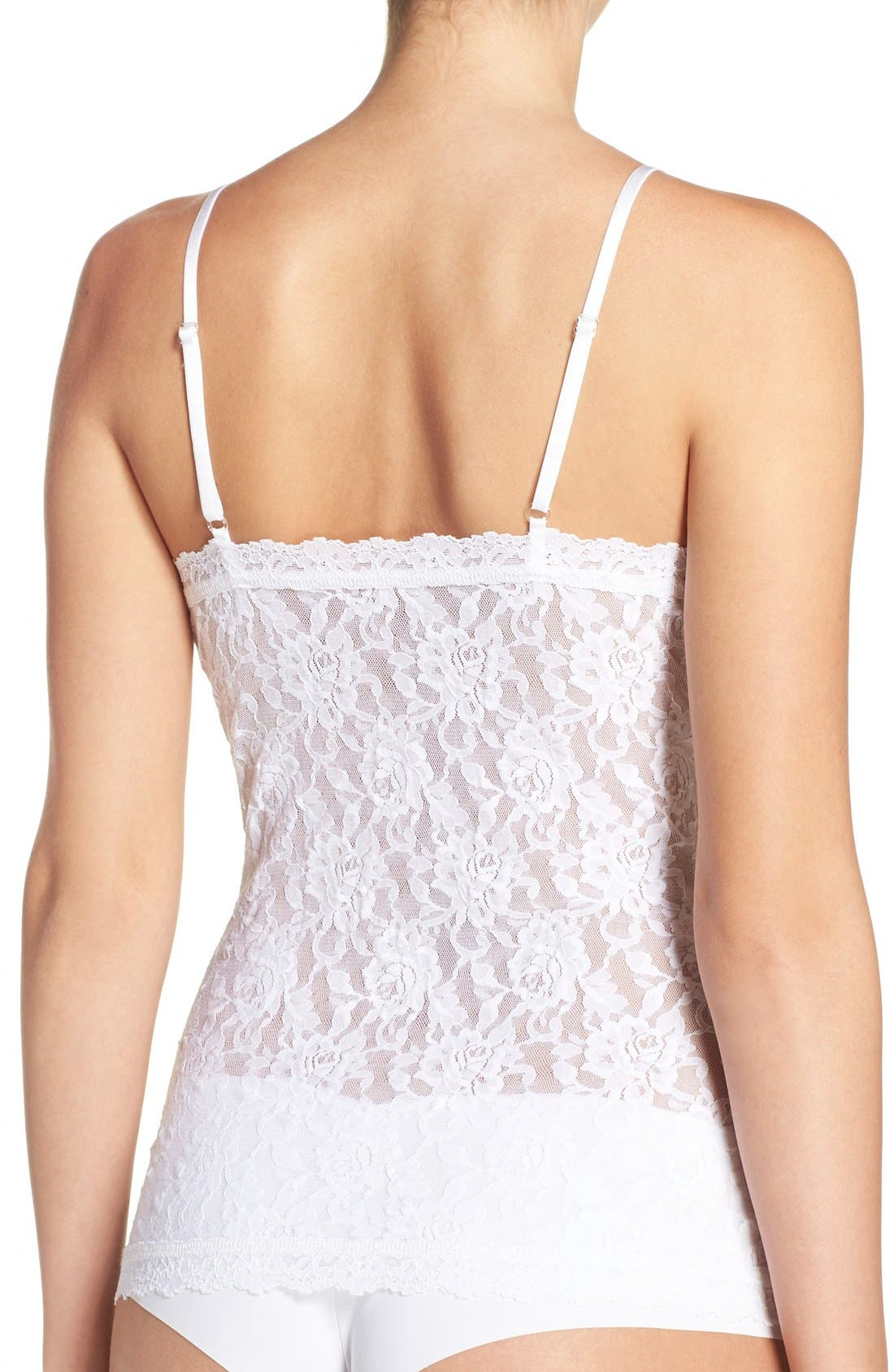 Lace Camisole,                             Alternate thumbnail 2, color,                             White