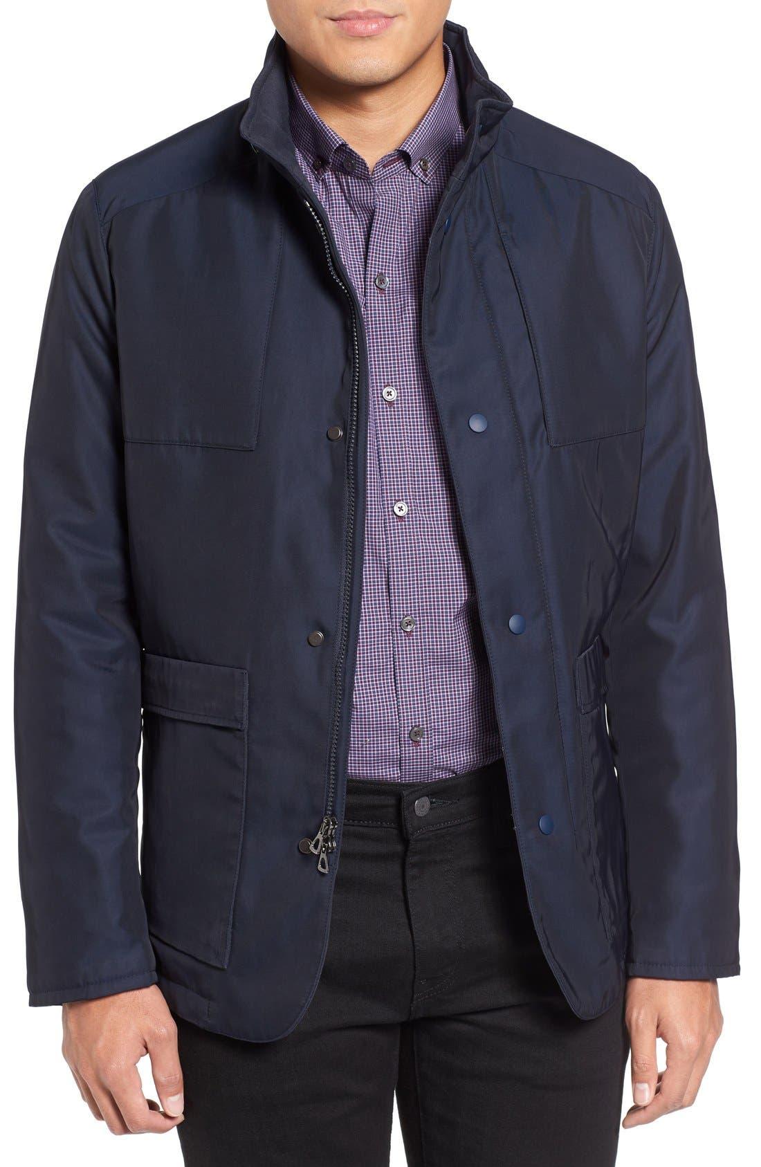 Lightweight Jacket,                         Main,                         color, Navy