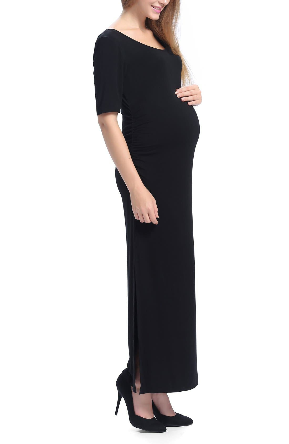 Alternate Image 3  - Kimi and Kai Isla Maternity Maxi Dress