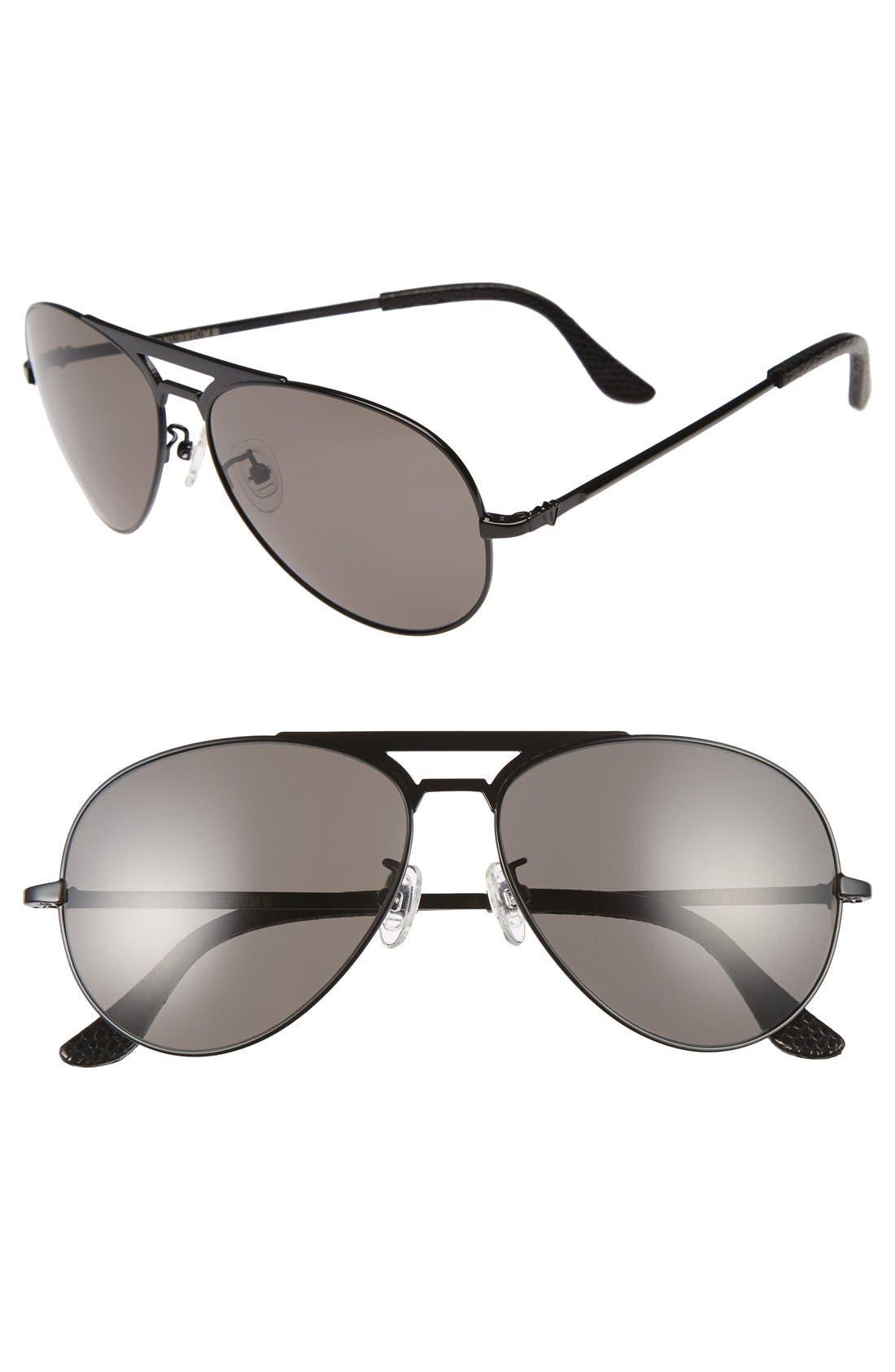 VALLEY 51mm Manubrium Aviator Sunglasses