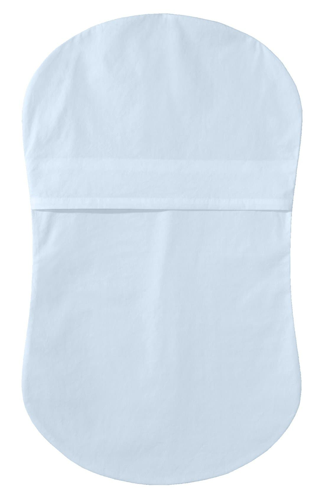 Cotton Fitted Sheet for Halo<sup>®</sup> Bassinest<sup>™</sup> Swivel Sleeper,                             Alternate thumbnail 2, color,                             Blue