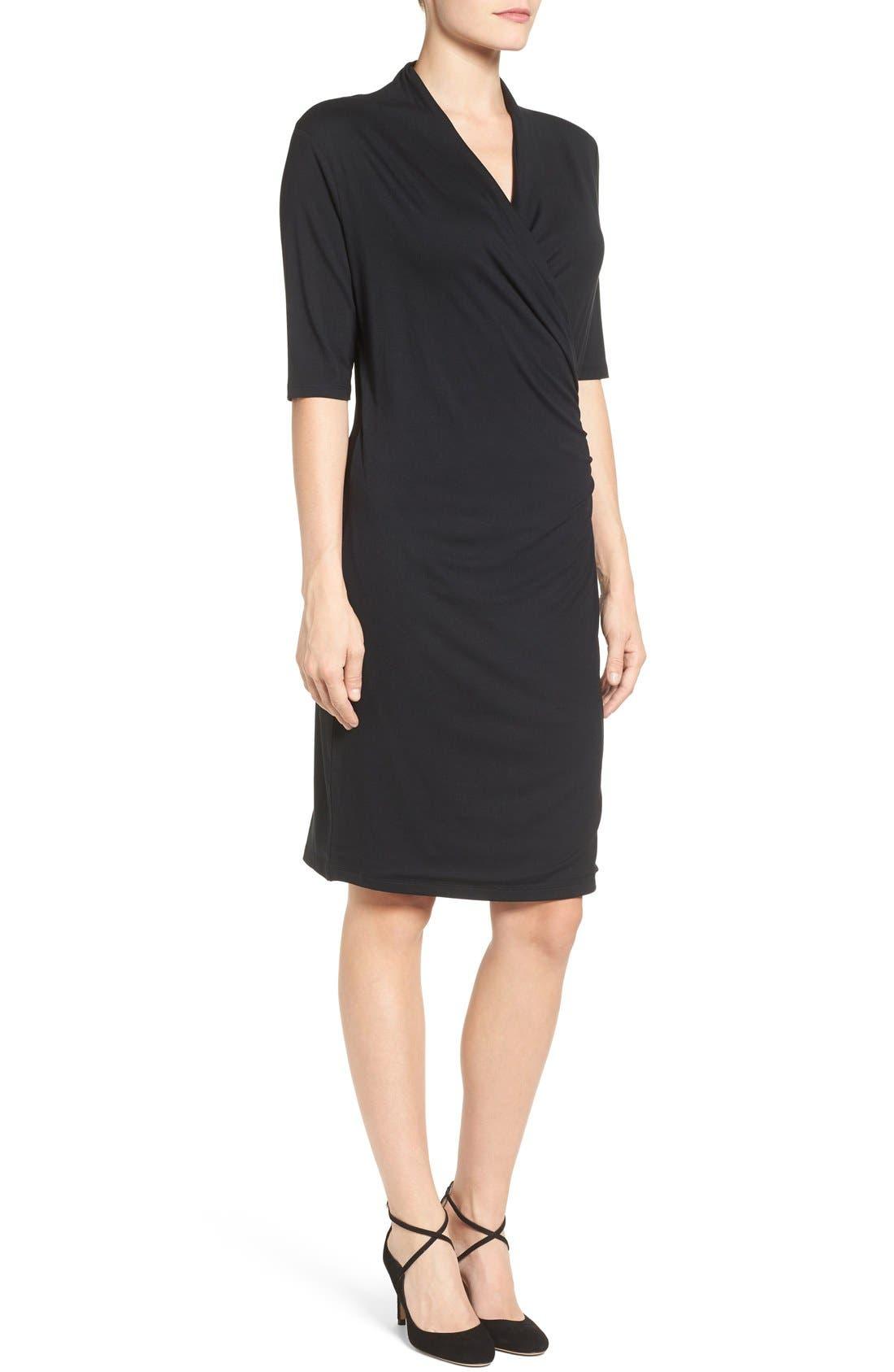 Alternate Image 3  - Press Faux Wrap Dress