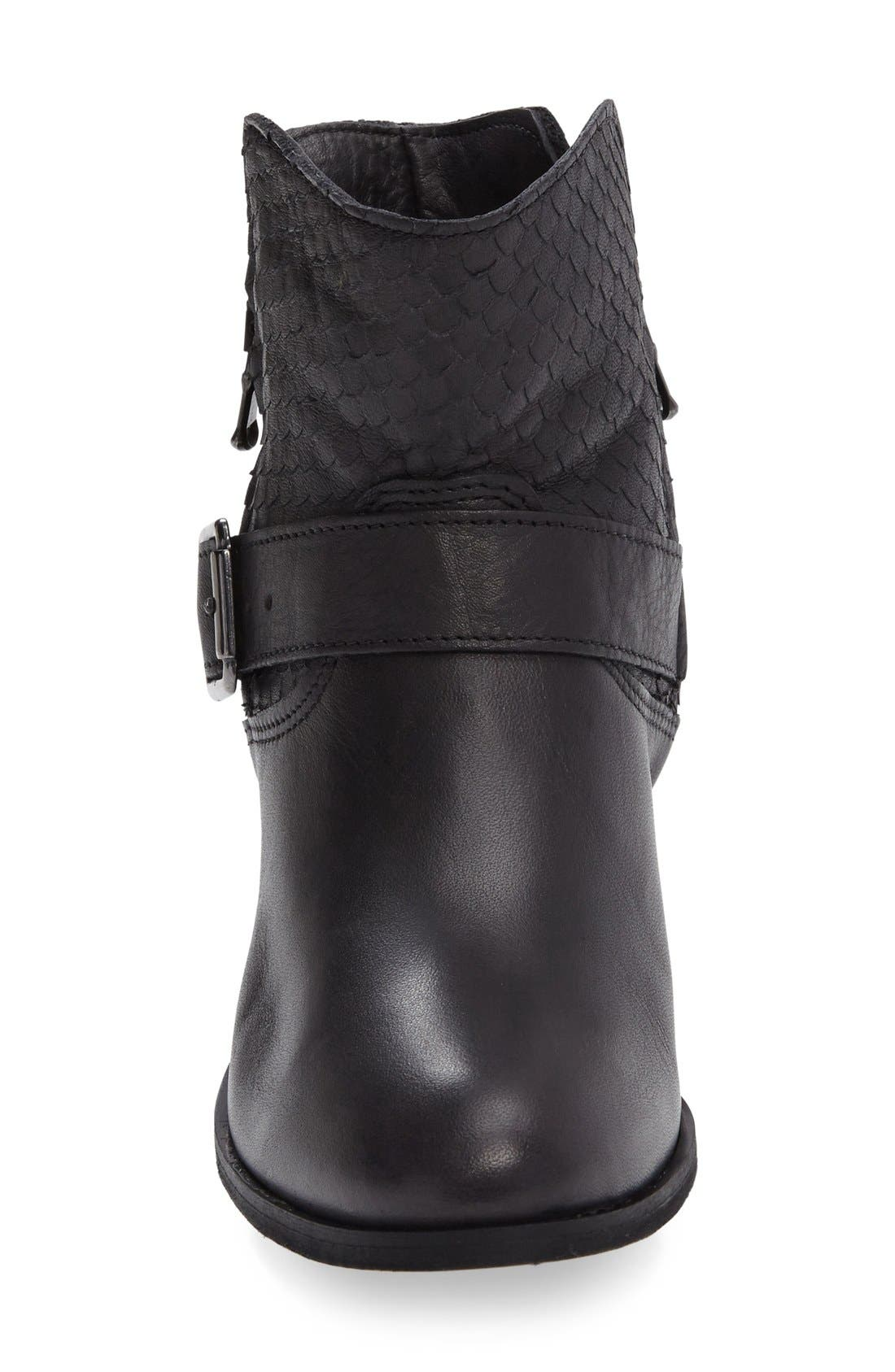 Alternate Image 3  - CrossTown Chiara 22 Textured Buckle Strap Bootie (Women)