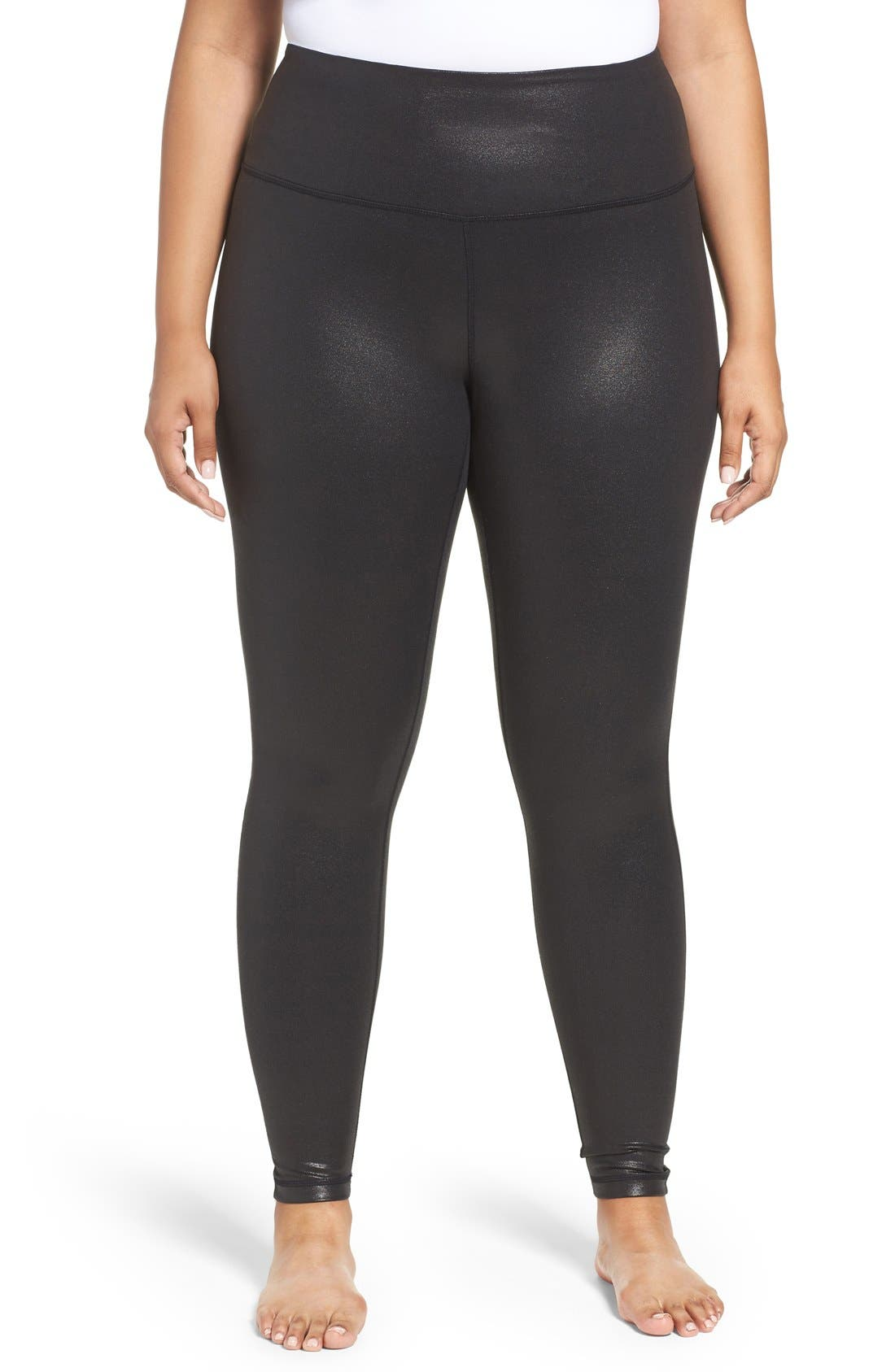 Alternate Image 1 Selected - Zella Live-In High Waist Leggings (Plus Size)