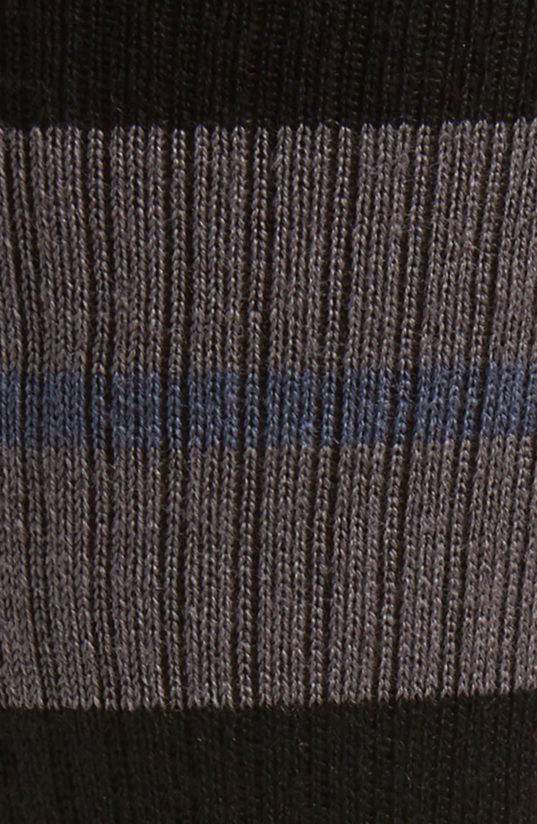 Sequoia Classic Crew Socks,                             Alternate thumbnail 2, color,                             Black