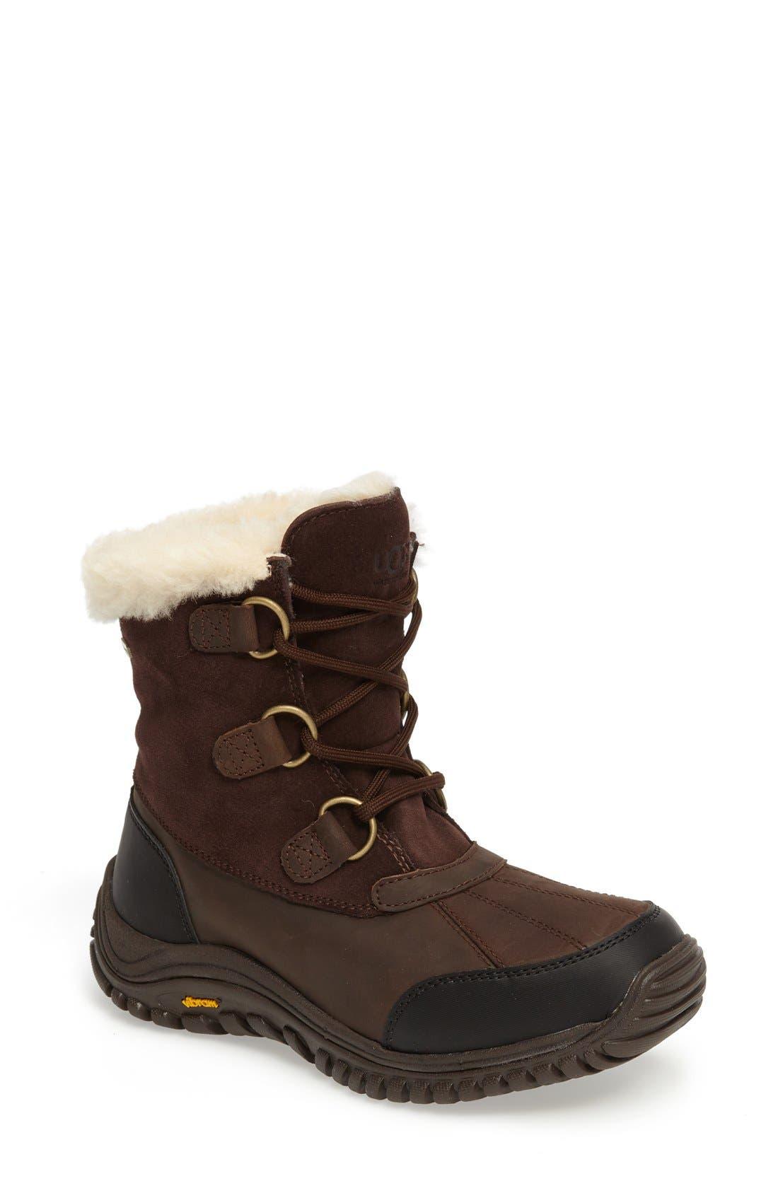 Alternate Image 1 Selected - UGG® Ostrander Waterproof Winter Boot (Women)