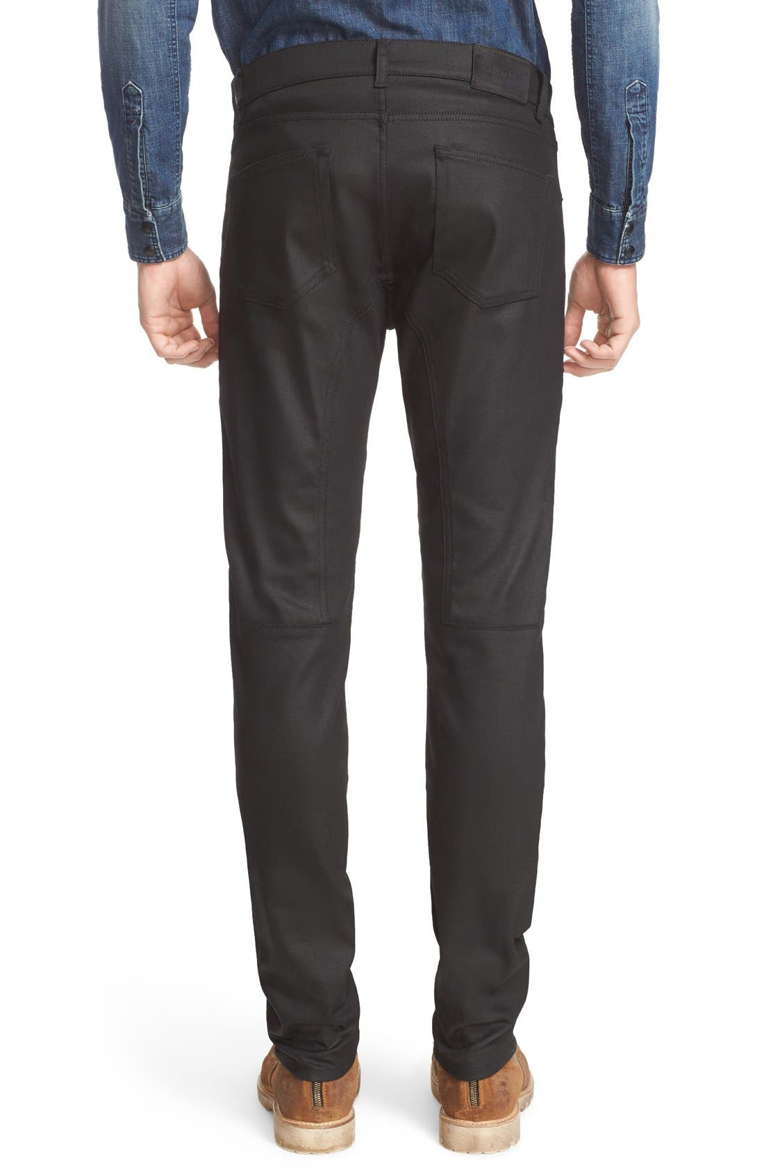 Alternate Image 2  - Belstaff Westham Raw Stretch Denim Moto Jeans