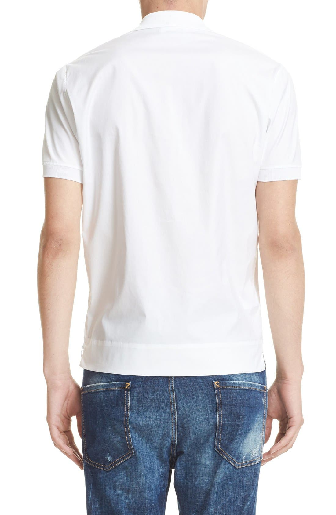 Alternate Image 2  - Dsquared2 Extra Trim Fit Polo