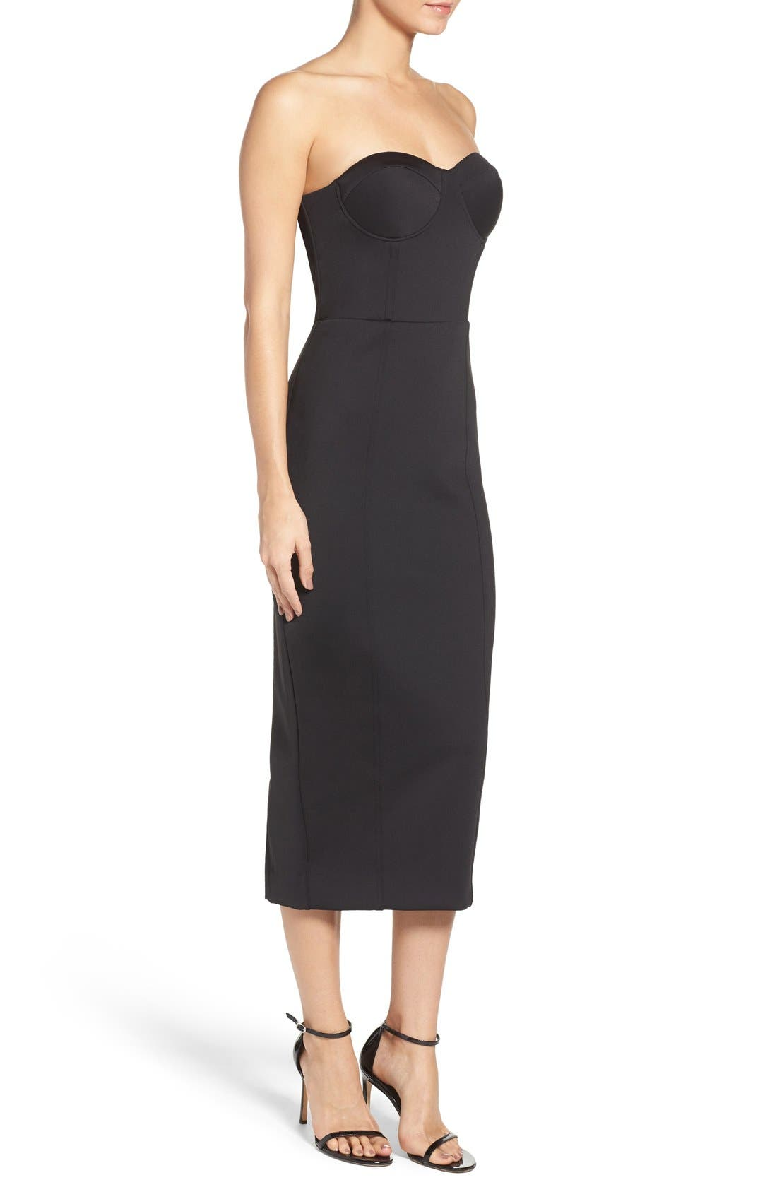 Alternate Image 3  - Misha Collection Gabrielle Midi Dress (Nordstrom Exclusive)