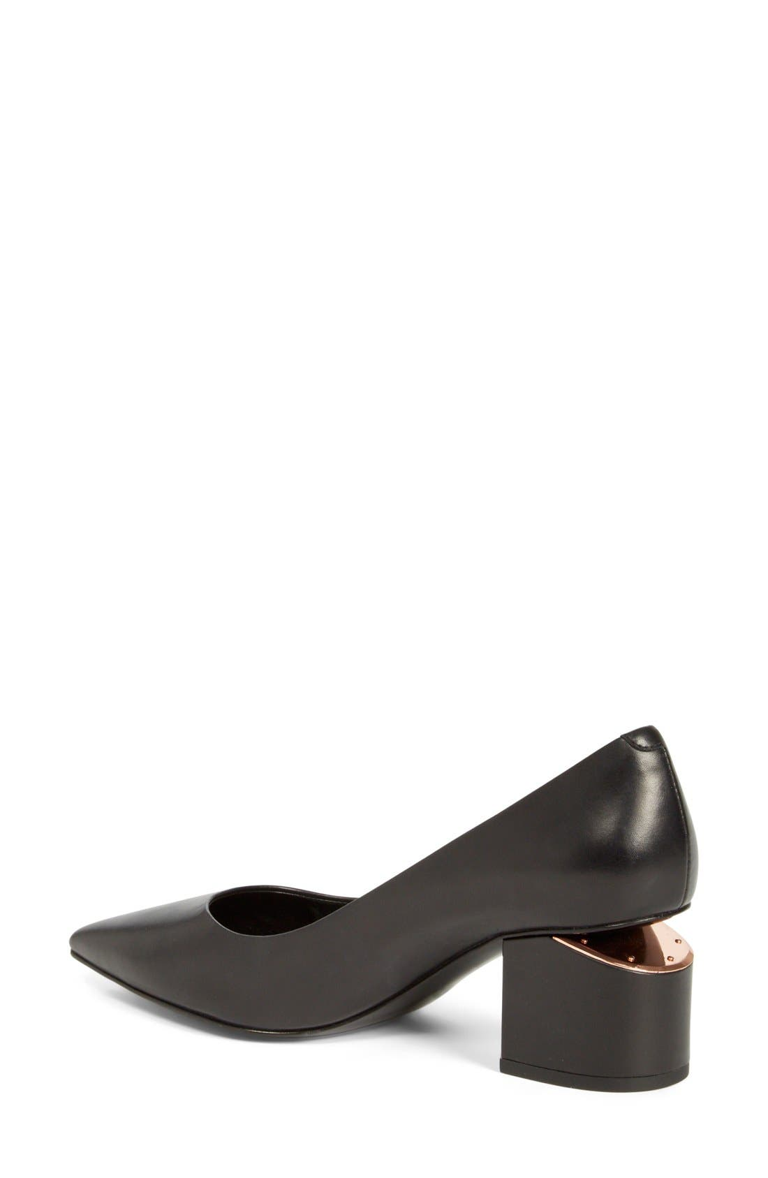 Alternate Image 2  - Alexander Wang 'Simona' Block Heel Pump (Women)