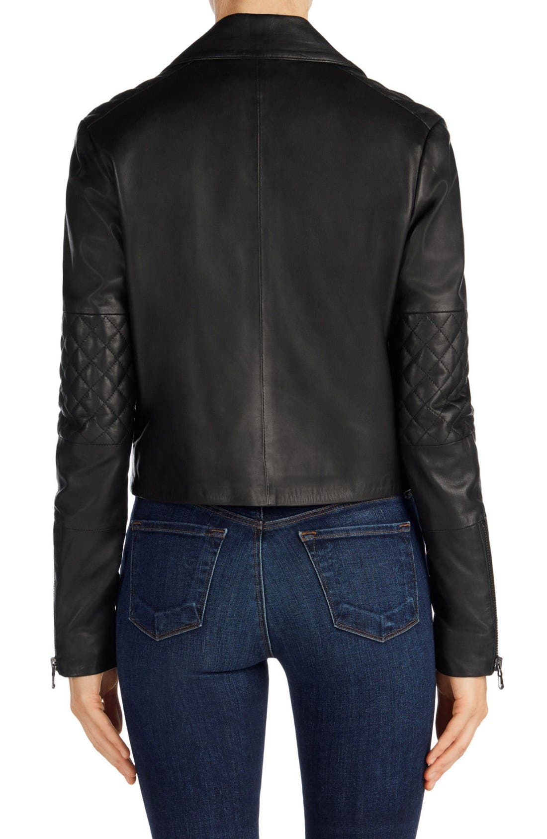 Alternate Image 2  - J Brand Adaire Quilted Leather Jacket