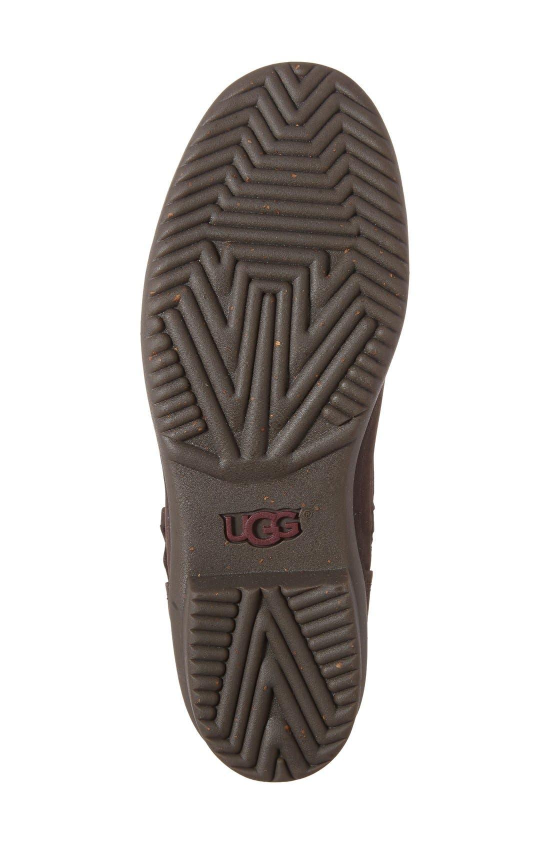 Alternate Image 4  - UGG® Simmens Waterproof Leather Boot (Women)