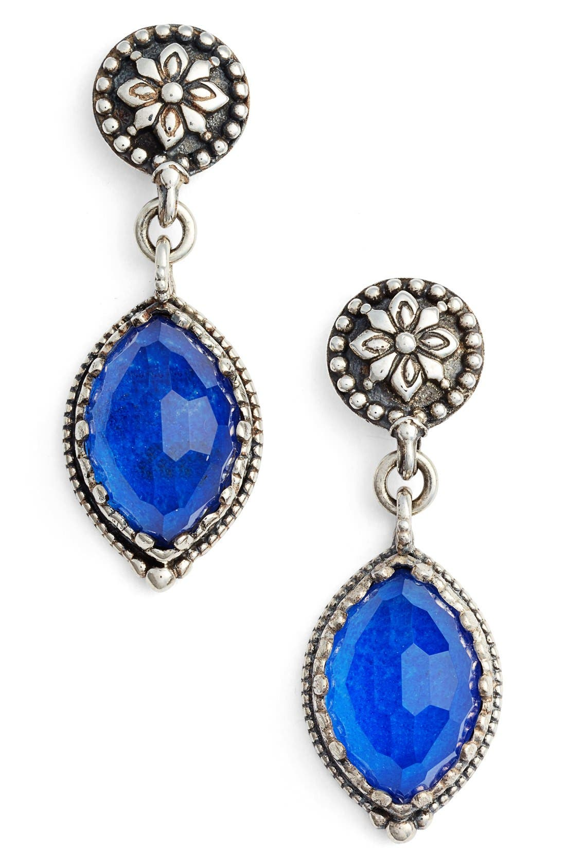KONSTANTINO Andromeda Lapis Lazuli Drop Earrings