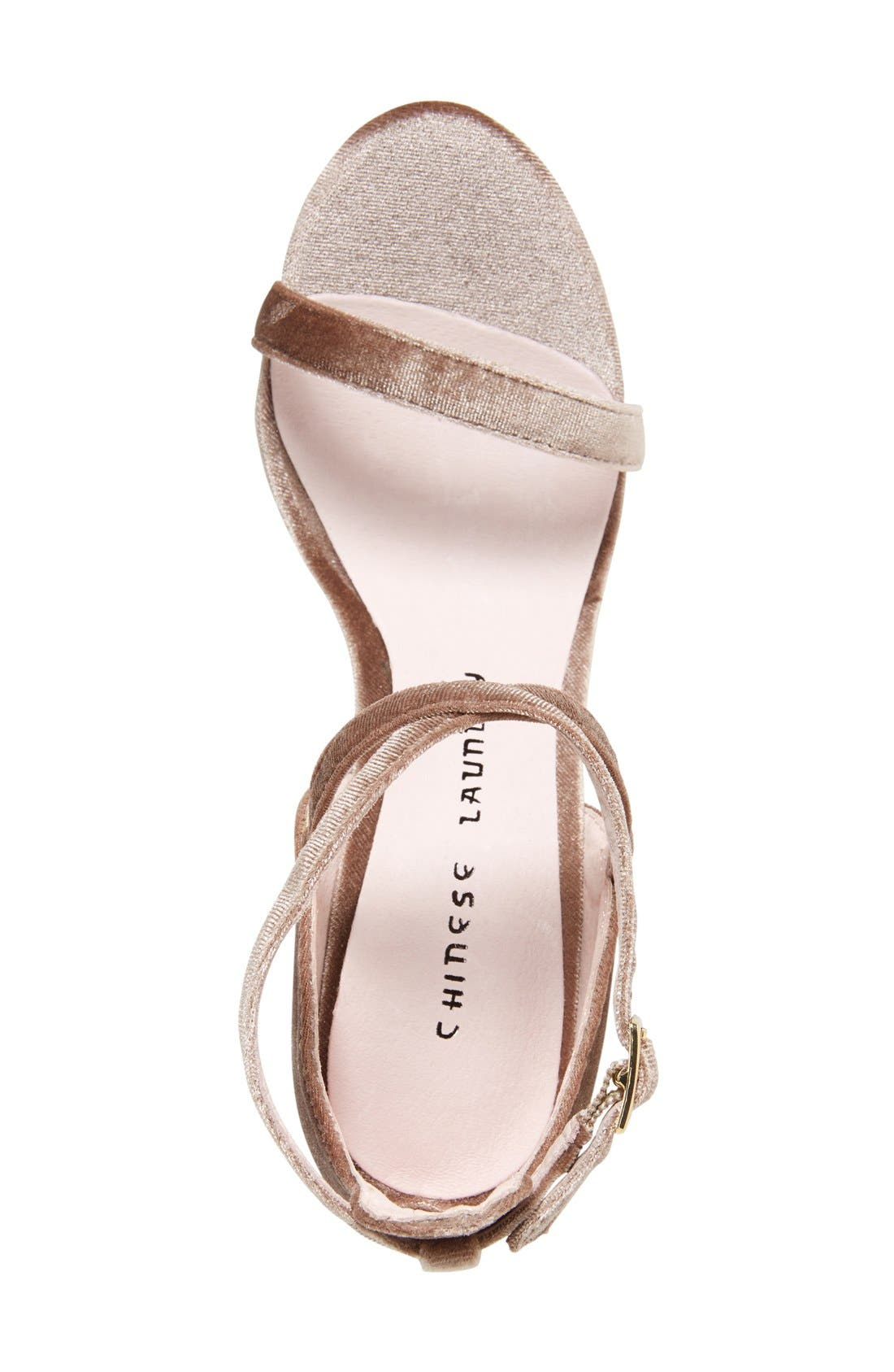 Alternate Image 3  - Chinese Laundry Lavelle Ankle Strap Sandal (Women)