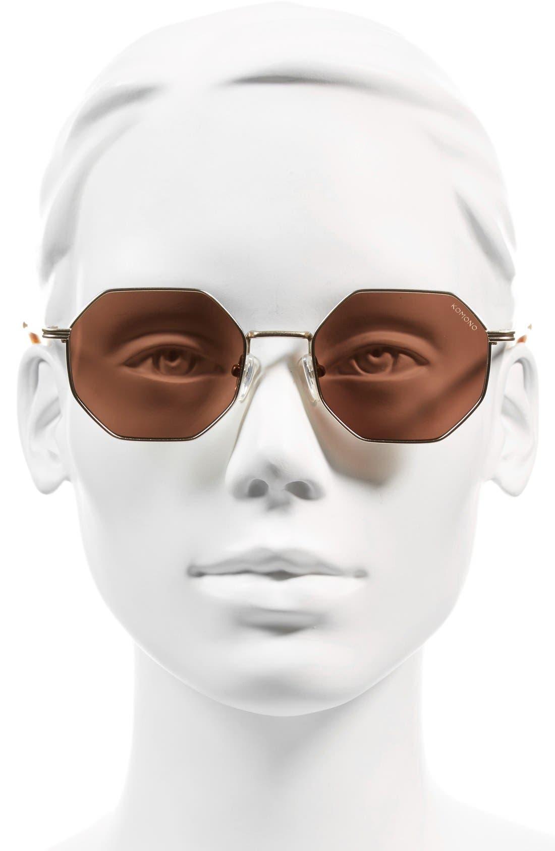 Alternate Image 2  - Komono Monroe 51mm Sunglasses