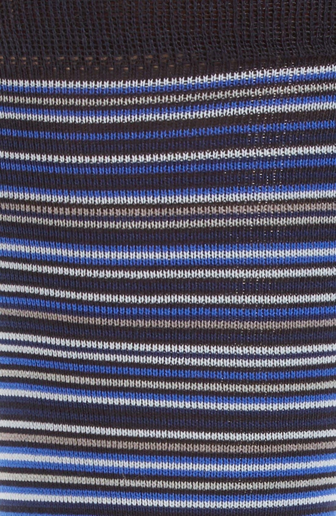 Alternate Image 2  - Cole Haan Multi Stripe Crew Socks (3 for $30)