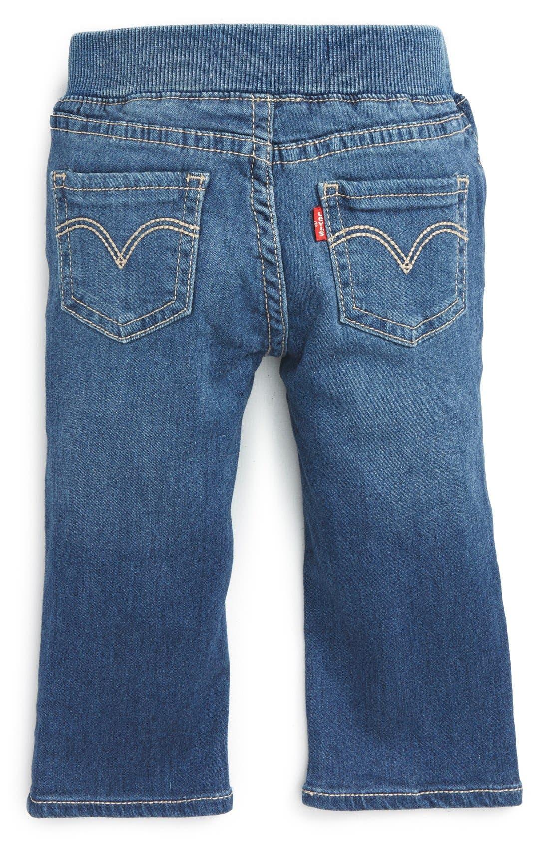 Skinny Jeans,                             Alternate thumbnail 2, color,                             Costal