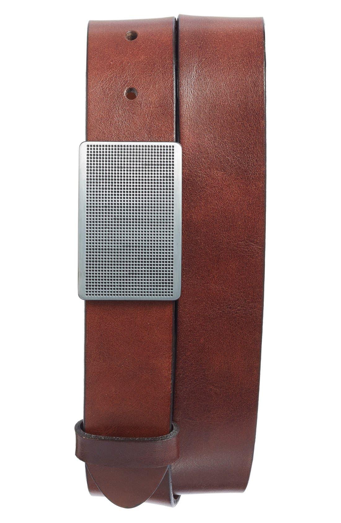 Main Image - Bosca Leather Belt