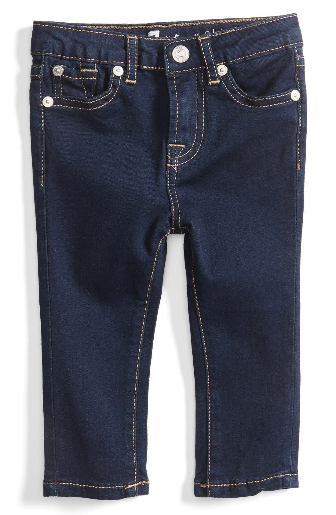Skinny Fit Jeans,                         Main,                         color, Rinse Indigo