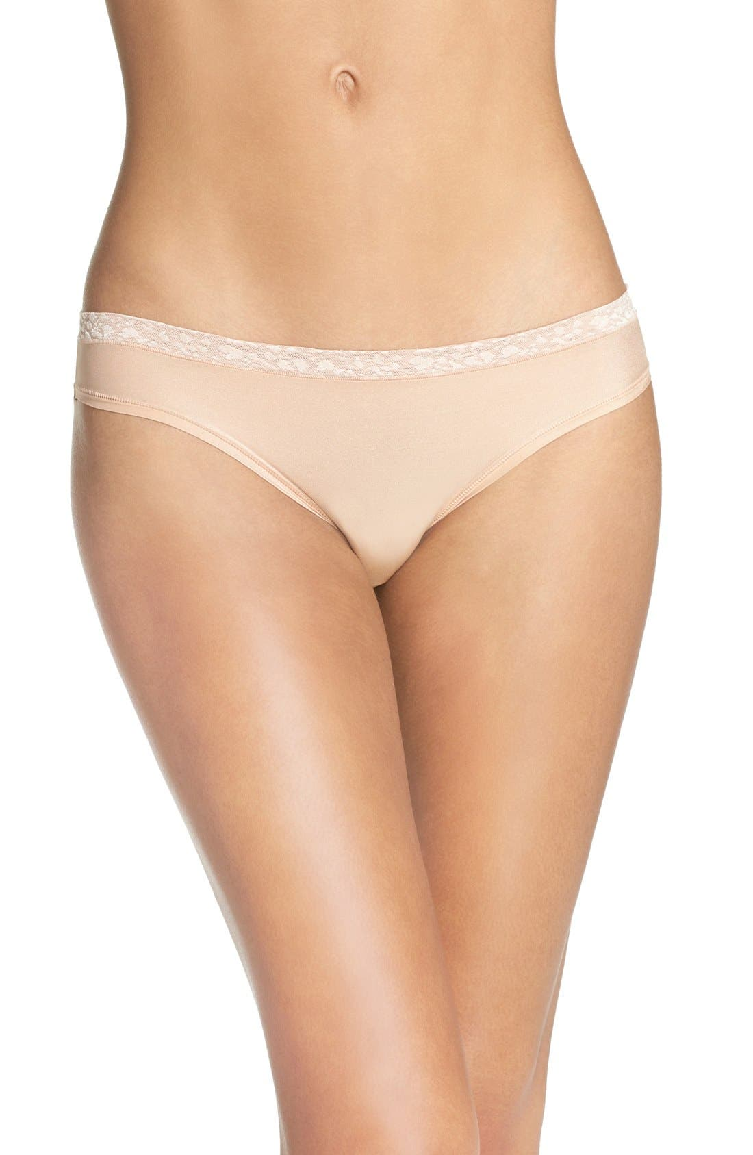 Le Mystère 'Safari' Lace Trim Bikini