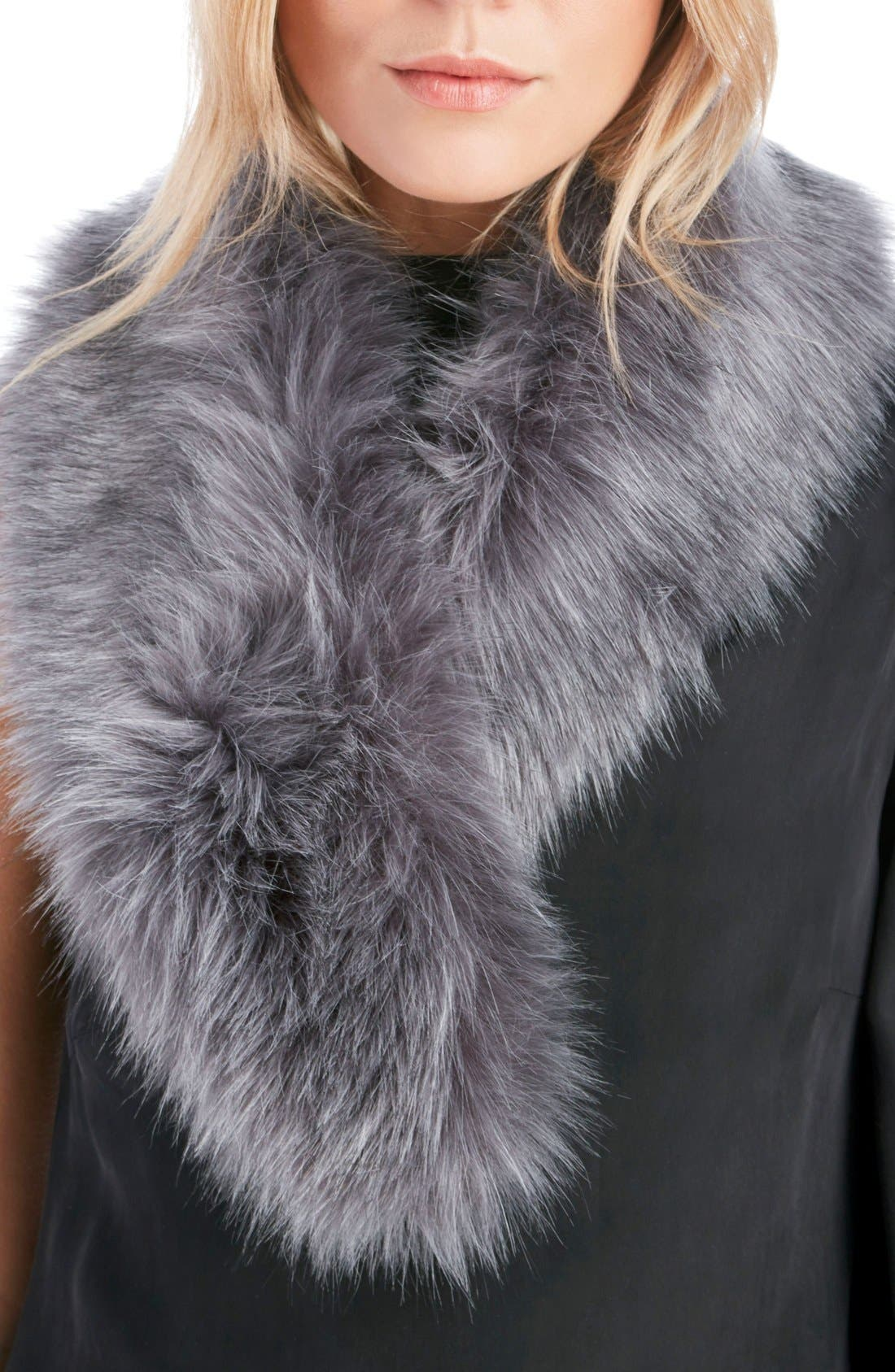 Alternate Image 1 Selected - Sole Society Faux Fur Stole