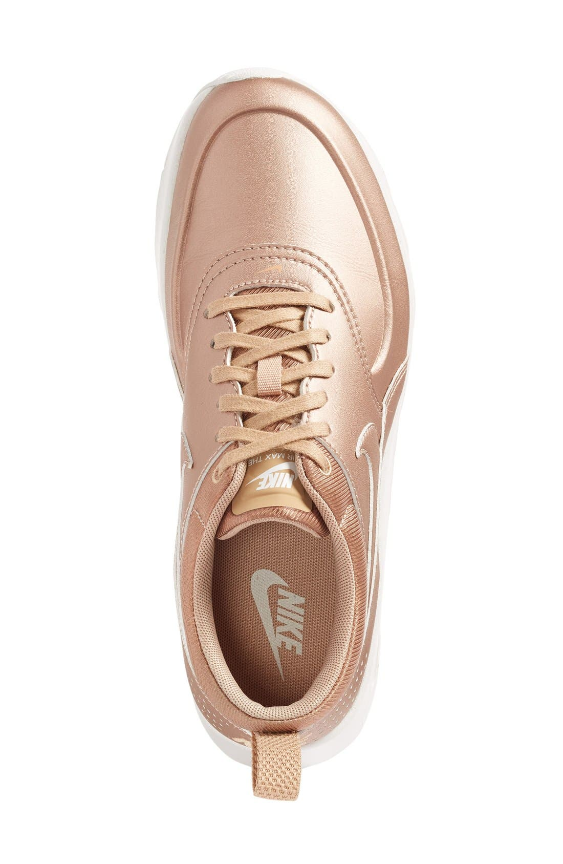 Air Max Thea SE Sneaker,                             Alternate thumbnail 5, color,                             Metallic Bronze