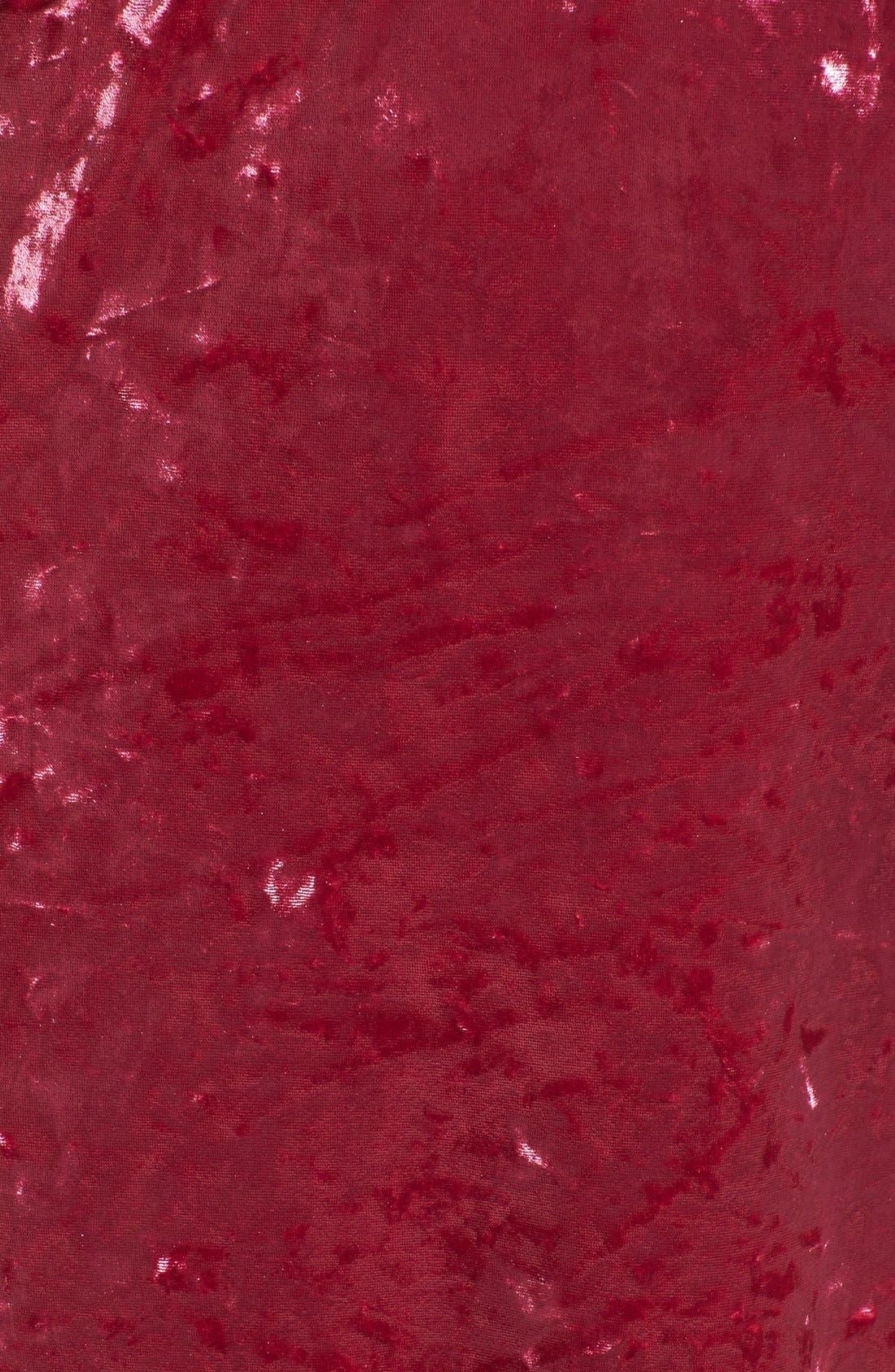 Alternate Image 6  - Leith Velvet Maxi Slipdress